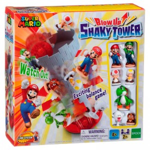 Juego shaky tower super mario