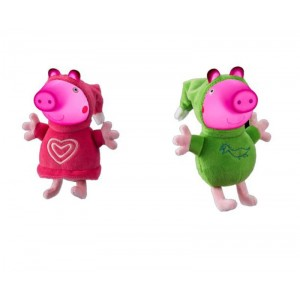 Peluche peppa pig glow friends luz