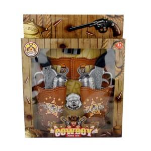 Cartuchera c/2 pistolas cowboy