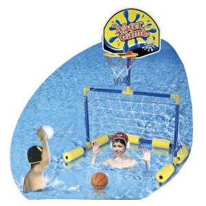 Set piscina 2 en 1 porteria+basket