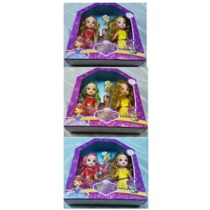 Pack 2 muñecas sweet c/mascota