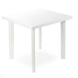 Mesa rectangular fiocco blanca